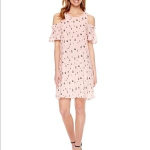 City Streets Birdcage Shift Dress Size 8 058